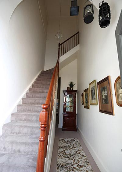Kapunda-Accommodation-School-of-Mines-Staircase
